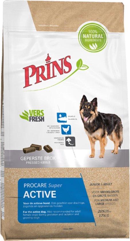 Prins - Procare Super Active - Hondenvoer - 15 kg