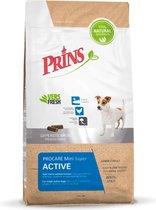 Prins Procare Super Active Mini - Hondenvoer - 3 kg