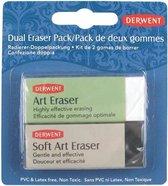 Derwent Dual Eraser Gum Pack