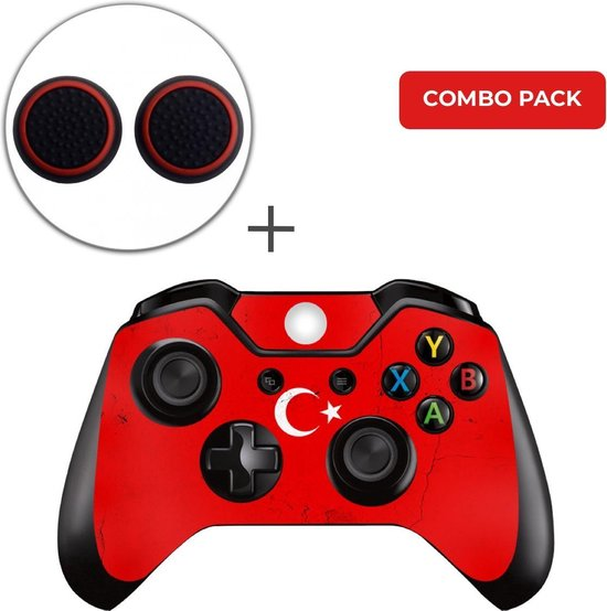 Turkije Combo Pack – Xbox One Controller Skins Stickers + Thumb Grips