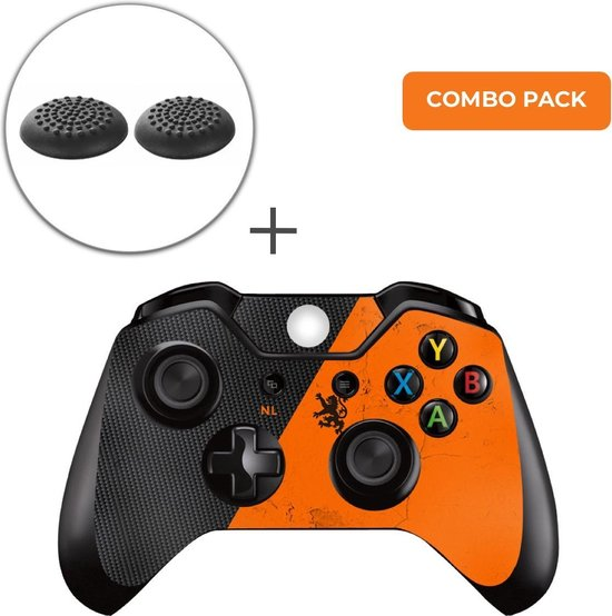 Nederland Combo Pack – Xbox One Controller Skins Stickers + Thumb Grips