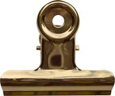 LPC Papierklem Bulldog clip goud - 19 mm -30 stuks