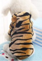 Carnavalspak voor de hond als tijger