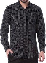 Antony morato zwart slim fit overhemd - Maat 52
