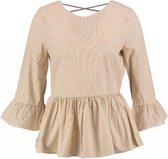Vero moda blouse katoen 3/4 mouw - Maat S
