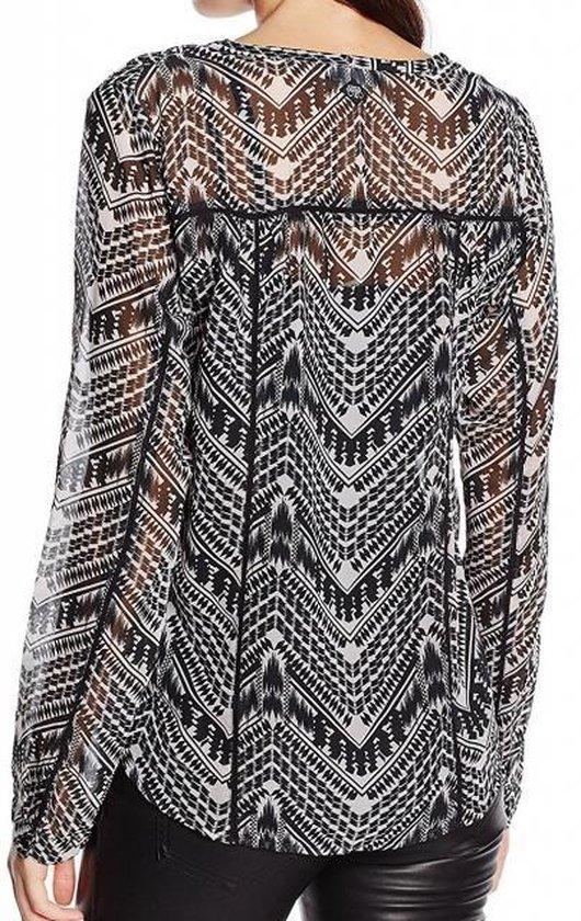 Dameskleding   Le temps des cerises tuniek blouse met top eronder VALT KLEINER