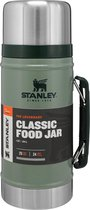 Stanley The Lengendary Classic Food Jar Thermosfles - 940 ml - RVS/Groen