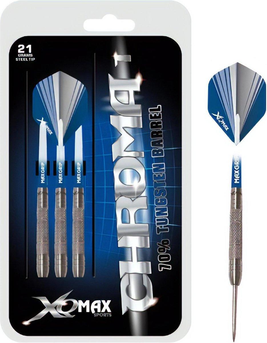 XQ Max - Chroma - darts - 23 gram - dartpijlen - 70% tungsten - steeltip