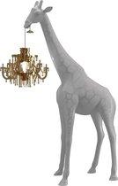 Qeeboo Giraffe in Love XS lamp - Cold Sand