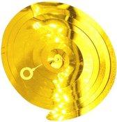 Spiraal Decoratie - Versiering - Hanger - Bruiloft - Verjaardag - Kerst - Goud - 5 Stuks - 90 cm