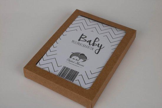 Mijlpaalkaarten Baby - 56 kaarten