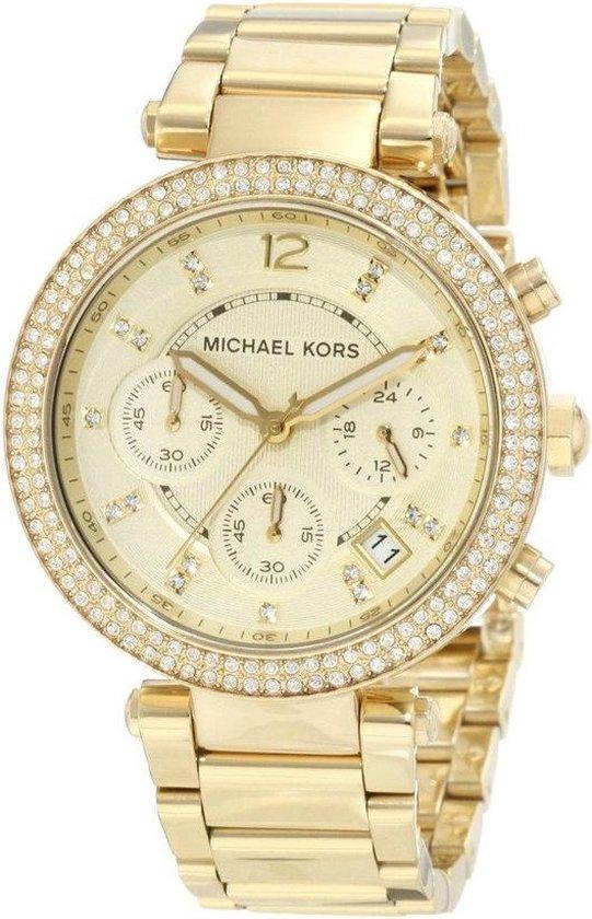 Michael Kors MK5354 - Horloge - 40 mm - Goudkleurig - Michael Kors