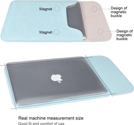 Let op type!! 15 4 inch PU + nylon laptop tas Case Sleeve notebook draagtas  voor MacBook  Samsung  Xiaomi  Lenovo  Sony  DELL  ASUS  HP (koeienhuid geel)