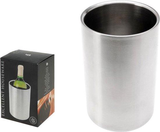 Excellent Houseware Wijnkoeler - RVS