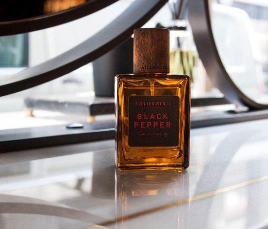 ATELIER REBUL Black Pepper 50 ml - Eau de Parfum - Parfum voor Heren - Atelier Rebul