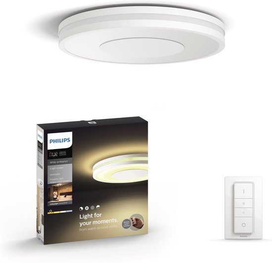 Philips Hue Being Plafondlamp - White Ambiance - wit