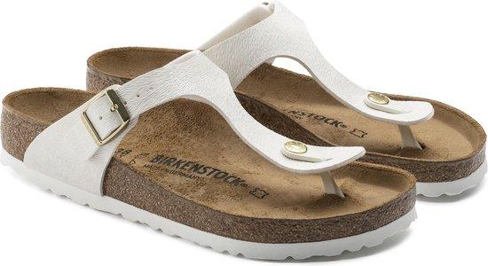 Birkenstock Gizeh slippers wit Maat 42