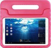 white Label Kinderhoes voor Samsung Galaxy Tab E 9.6 / T560 Foam Beschermcover Roze