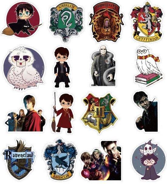 Nieuw bol.com | Harry Potter stickers - Mix met 50 afbeeldingen - Voor NR-28