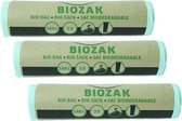 Bio Bag - biozak 140 liter Multipack 3 rollen van 3 zakken