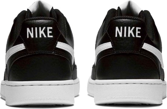 Nike Court Vision Low Heren Sneakers - Black/White-Photon Dust - Maat 43