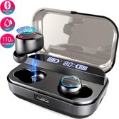 Glacor® Draadloze Oordopjes met Powerbank - Bluetooth Oortjes Waterdicht - Draadloos in-Ear - Sport Earbuds