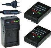 ChiliPower EN-EL14 / EN-EL14a Nikon Kit - Camera Batterij Set
