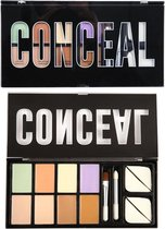 Profusion Concealer Corrector Palette & Brushes 6 Shades - 1896DSP
