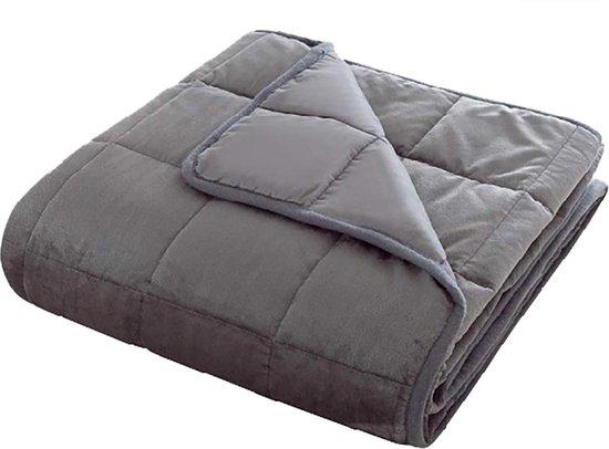 Verzwaringsdeken 8 KG - Weighted Blanket - Verzwaard Deken - Kalmeringsdeken - Voor Een Betere Slaap - Autisme - Anti Stress