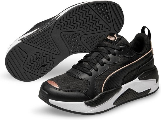 PUMA X Ray Metallic Wn's Dames Sneakers - Puma Black-Rose Gold-Puma White -  Maat 37