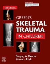 Green's Skeletal Trauma in Children E-Book