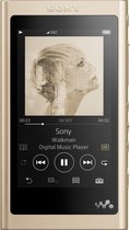 Sony NW-A55L Walkman - Hi-Res Audio MP3-speler - 16GB - Goud