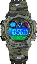 Kinderhorloge – Chronograaf – Waterdicht – Sports Watch Kids – Army Green