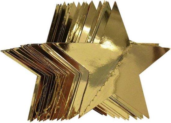 Verrassend bol.com   Christmas / Kerst versiering - Gouden sterren - 10cm RV-88