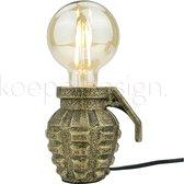 Housevitamin - Handgranaat Lamp - Goud