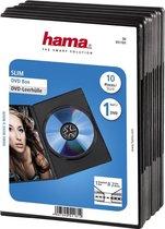 Hama 04751181 Dvd Slimline Doos - 10 stuks / Zwart
