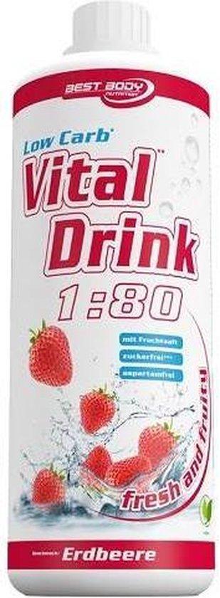 Low Carb Vital Drink 1000ml Brazilian Sun