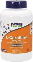 L-Carnitine 1000mg Now Foods 100tabl