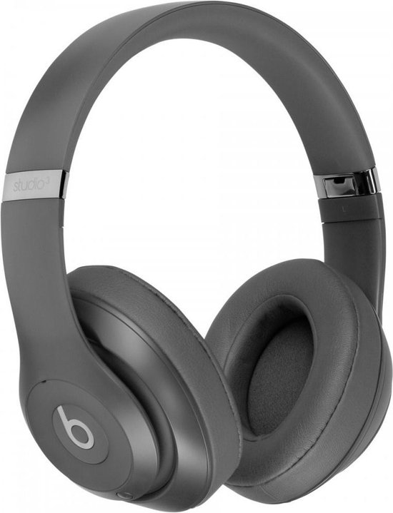 Beats Studio 3 Wireless Over‑Ear Headphones - Grey