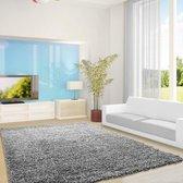Hoogpolig vloerkleed - Life Lichtgrijs 120x170cm