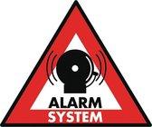 König SAS-ST-AS Sticker Alarmsysteem 123x148mm 5stuks