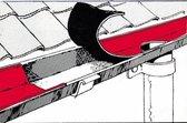 Dakreparatietape 100 mm, 10 m lang, loodverf, zelfklevend