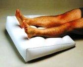 Adhome Opblaasbaar wigkussen 63 x 68 cm  voor benen, hoofd of rug