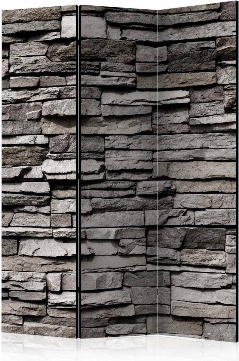 Vouwscherm - Muur 135x172cm - karo-art