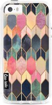 Apple iPhone 5 / iPhone 5S / iPhone SE hoesje Stained Glass Multi Casetastic Smartphone Hoesje Hard Cover case