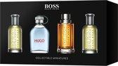 Heren cadeauset: Hugo Boss Collectible miniatures