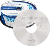 MediaRange MR508 Lees/schrijf blu-ray disc BD-R DL 50 GB 25 stuk(s)