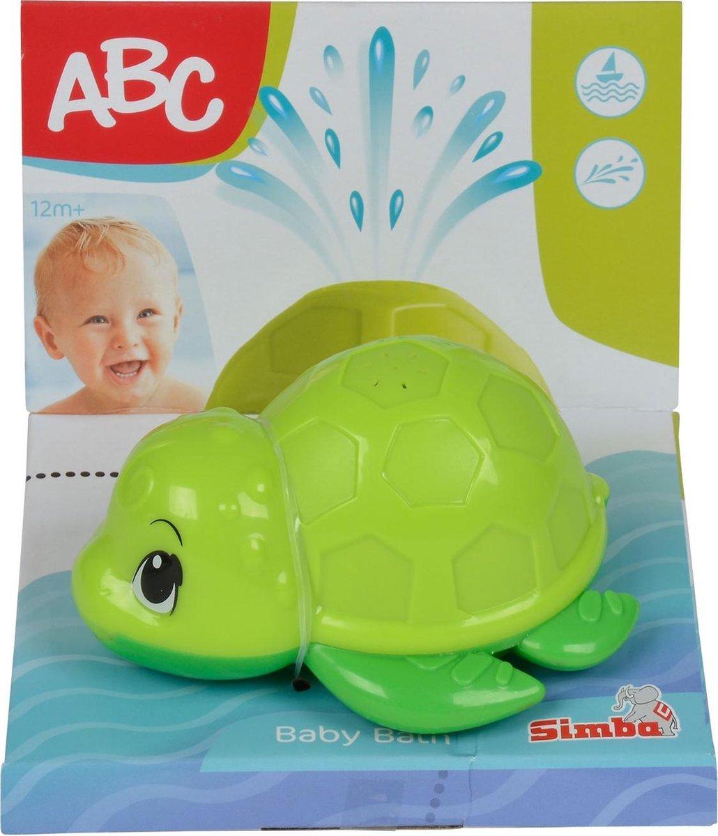 Simba - ABC Bad Schildpad - 12m+ - 11 cm - badspeelgoed