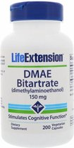 DMAE Bitartrate (dimethylaminoethanol), 200 Vegetarian Capsules