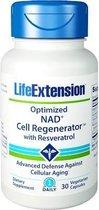 Optimized NAD+ Cell Regenerator With Resveratrol, 30 Vegetarian Capsules